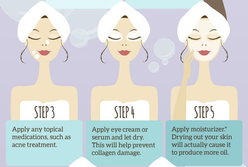 How to wash your skin the right way