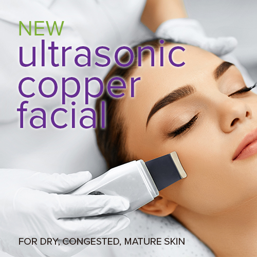 Ultrasonic Copper Facial